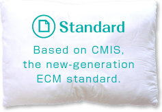 Based on CMIS, the new‑generation ECM standard.